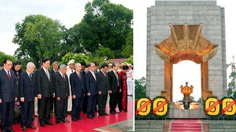Aktivitas yang praksis untuk memperingati ultah ke-66 Hari Prajurit Penyandang Cacad dan Pahlawan Gugur Vietnam - ảnh 1