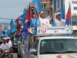 Kampanye pemilu Parlemen Kamboja angkatan ke-5 berakhir - ảnh 1