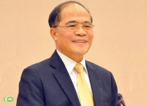 Ketua MN Nguyen Sinh Hung mengakhiri dengan baik kunjungan di Republik Korea dan Myanmar - ảnh 1