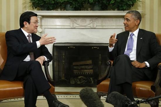 Langkah perubahan yang penting dalam hubungan Vietnam – Amerika Serikat - ảnh 1