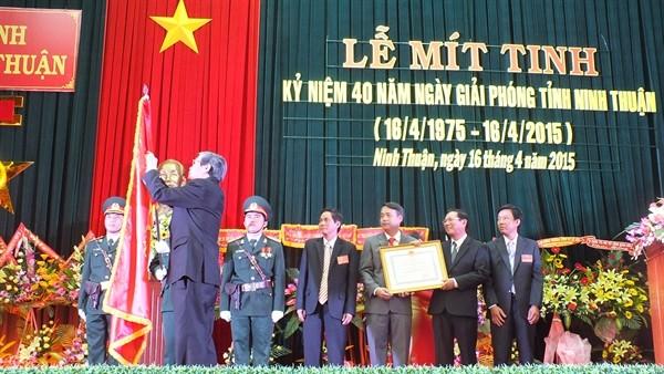 Aktivitas-aktivitas memperingati ultah ke-40 pembebasan Vietnam Selatan dan penyatuan Tanah Air - ảnh 1