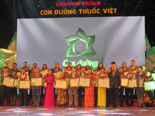 """62 produk yang mendapat gelar """"Bintang obat Vietnam"""" - ảnh 1"""
