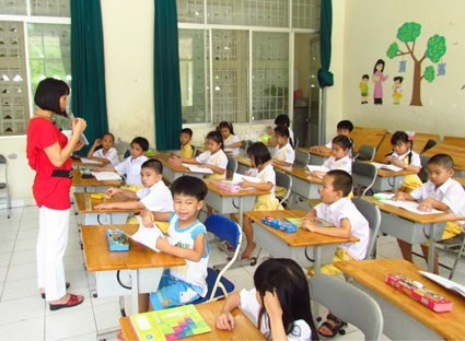 Vietnam mencapai kesetaraan gender di tingkat sekolah dasar - ảnh 1