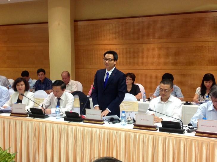 Deputi PM Vu Duc Dam memimpin sidang para sponsor tentang bantuan internasional dalam mengelola keselamatan bahan makanan - ảnh 1