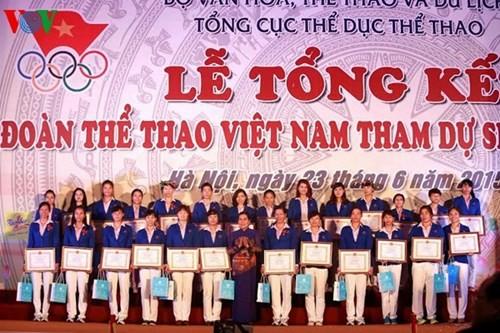 Vietnam berusaha merebut banyak prestasi tinggi di arena pertandingan benua dan dunia - ảnh 1