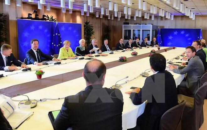 Konferensi Tingkat Tinggi Uni Eropa dan masalah-masalah panas Eropa - ảnh 1