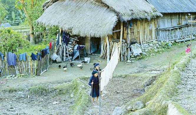 Musim tenun di dukuh Phung, provinsi Ha Giang - ảnh 5
