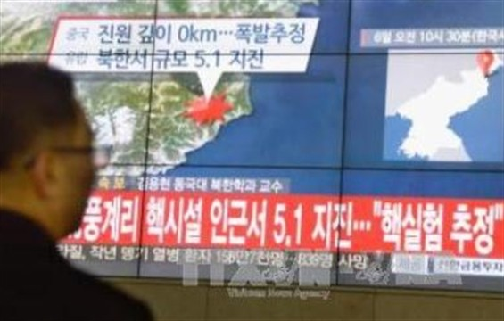 Uji nuklir yang dilakukan RDR Korea terus diprotes oleh Komunitas internasional - ảnh 1