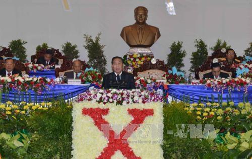 Tilgram ucapan selamat yang disampaikan KS PKV Vietnam kepada Kongres Nasional ke-10 Partai Rakyat Revolusioner Laos - ảnh 1