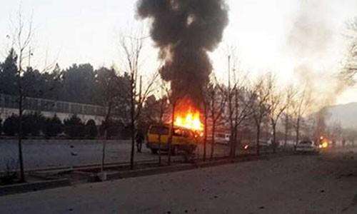 Serangan bom di dekat Kedutaan Besar Rusia di Kabul memakan korban - ảnh 1