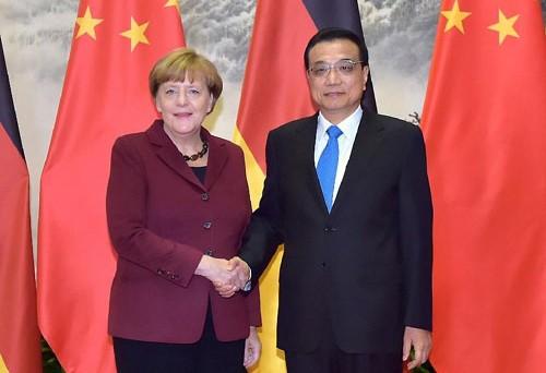 Tiongkok dan Jerman sepakat memperkuat hubungan bilateral - ảnh 1