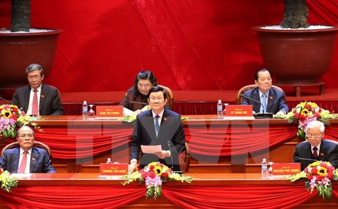 Pers Jepang menaruh perhatian besar pada Kongres Nasional ke-12 PKV - ảnh 1