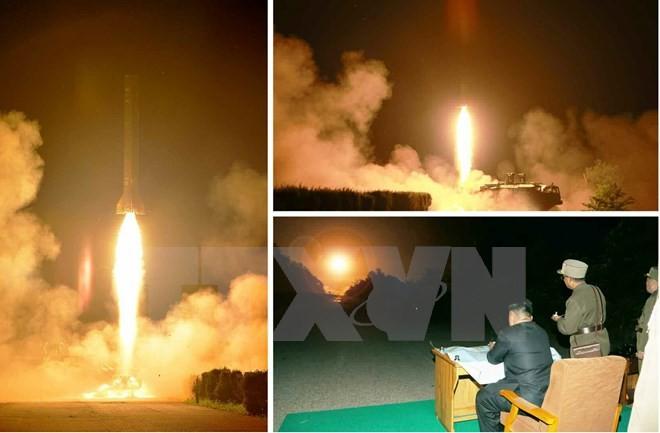 Republik Korea memperingatkan bahaya RDR Korea meluncurkan misil jarak jauh - ảnh 1