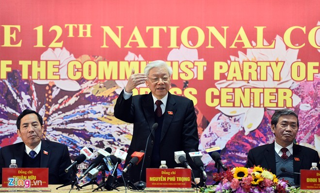 Kongres Nasional ke-12 PKV merupakan kongres yang demokratis, bersatu, berdisiplin dan berkearifan - ảnh 1
