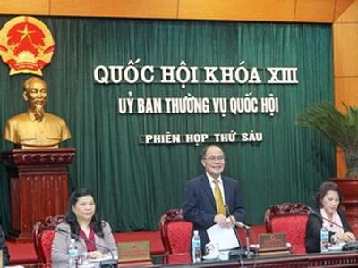 Diteruskan hari kerja ke-2 persidangan ke-6 Komite Tetap Majelis Nasional - ảnh 1
