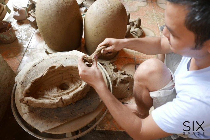 The rustic pottery art of Hương Canh - ảnh 4
