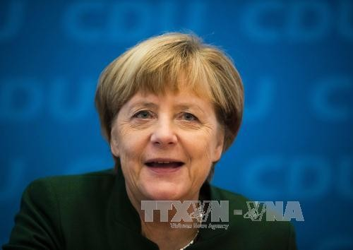 Merkel seeks fourth term as German chancellor - ảnh 1