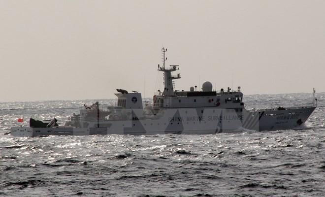 中国三艘海警船再次进入与日本争议的海域 - ảnh 1