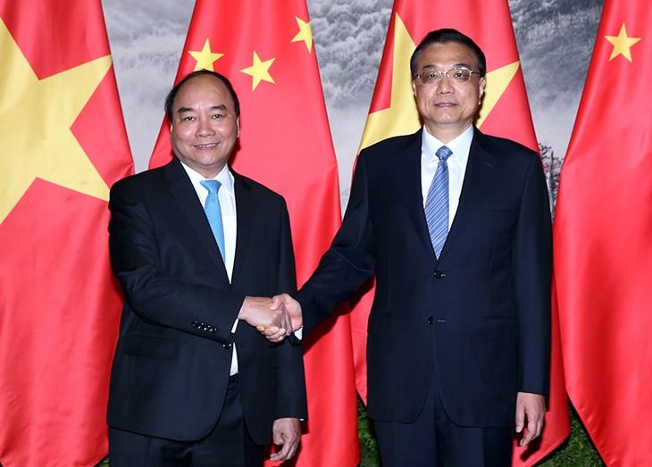 阮春福总理:推动越南与中国关系不断发展 - ảnh 1