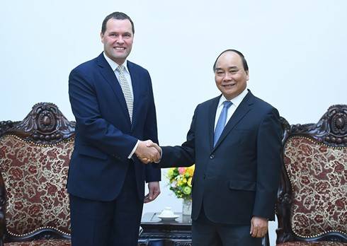 越南政府总理阮春福会见捷克驻越大使克莱佩科 - ảnh 1