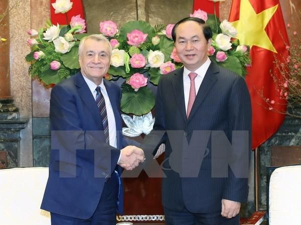 陈大光会见阿塞拜疆工业和能源部长阿里耶夫 - ảnh 1