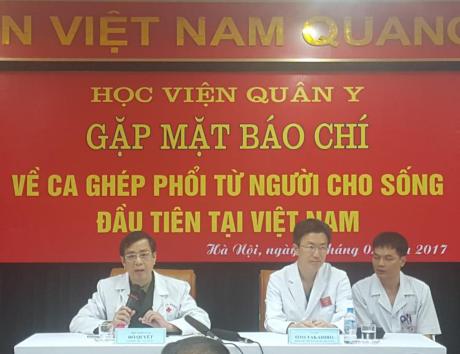 越南成功实施第一例活体肺移植手术 - ảnh 1
