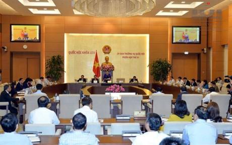 越南第14届国会常委会第9次会议对两位部长进行质询 - ảnh 1