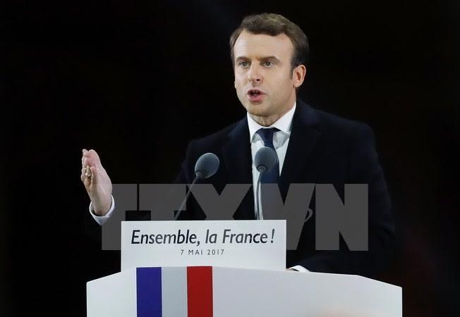 法国当选总统马克龙承诺维护《气候变化巴黎协定》 - ảnh 1
