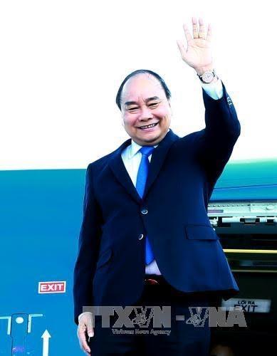阮春福结束出席2017年世界经济论坛东盟峰会的活动 - ảnh 1