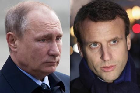 俄法总统同意在全球事务中合作 - ảnh 1