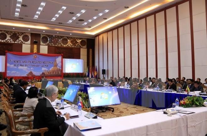越南出席东盟打击跨国犯罪第十七次高官会 - ảnh 1