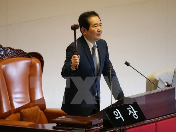 韩国国会议长呼吁与朝鲜对话 - ảnh 1