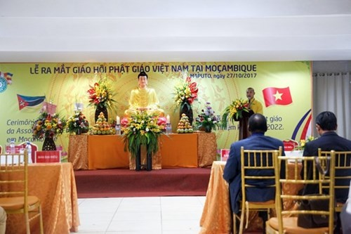 莫桑比克越南佛教协会正式成立 - ảnh 1