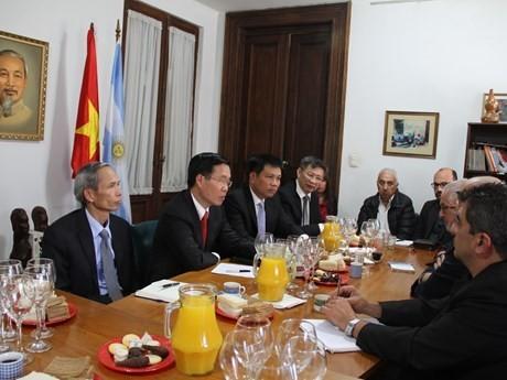 越南共产党代表团对阿根廷进行工作访问 - ảnh 1