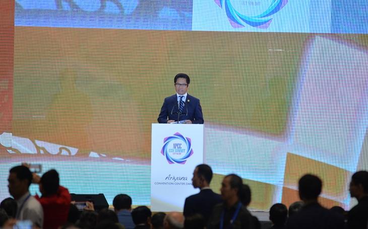 APEC多个经济体领导人出席工商领导人峰会并发表演讲 - ảnh 1