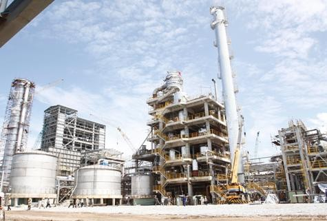 Stickstofffabrik Ca-Mau wird Ende Februar in Betrieb genommen - ảnh 1