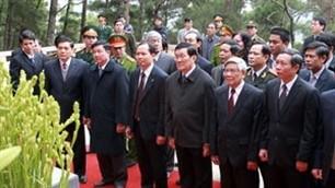 Feier zum 65. Jahrestag des Besuches von Präsidenten Ho Chi Minh in Thanh Hoa - ảnh 1