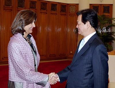 Kolumbianische Außenministerin zu Gast in Vietnam  - ảnh 1