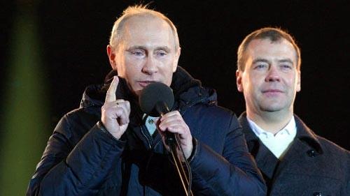 Präsidentenwahl in Russland: Putin wird Sieger - ảnh 1