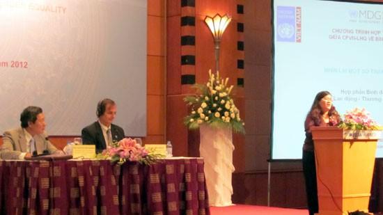 Uno bewertet Gleichberechtigung von Männern und Frauen in Vietnam als positiv - ảnh 1