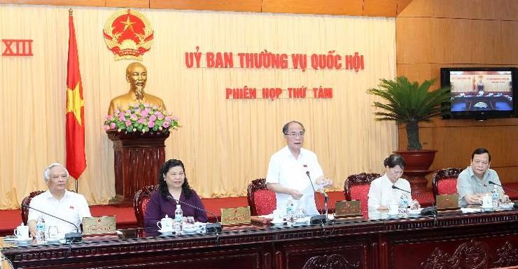 Der ständige Ausschuss des Parlaments tagt in Hanoi - ảnh 1