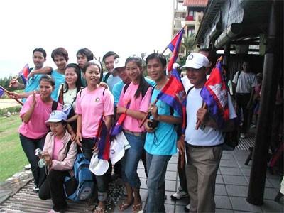 Treffen zwischen vietnamesischen und kambodschanischen Jugendlichen  - ảnh 1