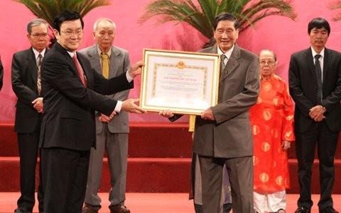 Verleihung des Ho Chi Minh-Preises in Hanoi - ảnh 1