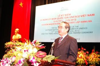 35. Gründungstag der vietnamesischen UNESCO-Kommission - ảnh 1