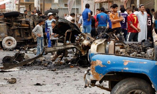 Bombenanschläge in Bagdad verursachen große Menschenschäden - ảnh 1