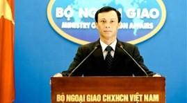 Vietnam protestiert gegen absichtlichen Auffahrunfall provoziert durch ein chinesisches Schiff - ảnh 1