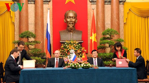 Gemeinsame Erklärung Vietnams und Russlands - ảnh 1