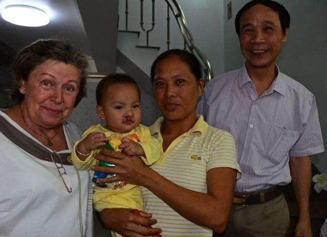 Heike Marquardt und ihre Hilfe für vietnamesische Kinder - ảnh 1