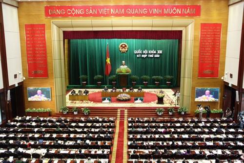 Parlament verabschiedet Beschluss über Verstärkung der Maßnahmen gegen Verbrechen - ảnh 1