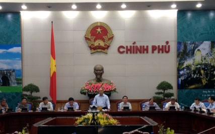 Vizepremierminister Nguyen Xuan Phuc leitet die Sitzung der Kooperationsabteilung Vietnam-Laos - ảnh 1